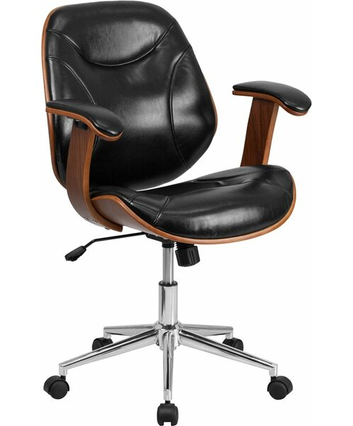 Crotts Mid-Back Ergonomic Executive Chair by George Oliver