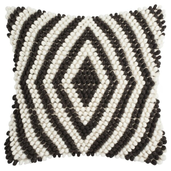 Lovington Diamond Loop Throw Pillow by Mistana