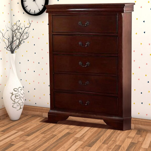 Eure 5 Drawer Accent Chest