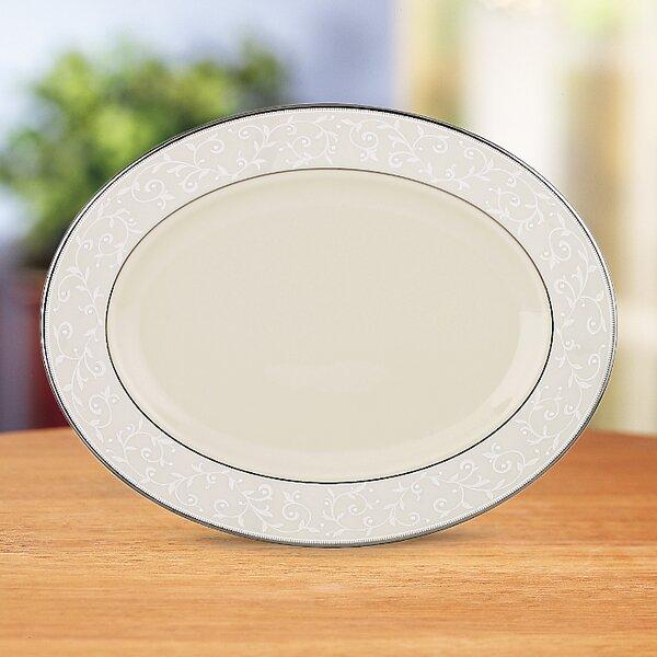 Pearl Innocence Oval Platter by Lenox