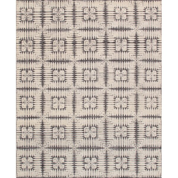 Hand Knotted Wool Taupe Rug