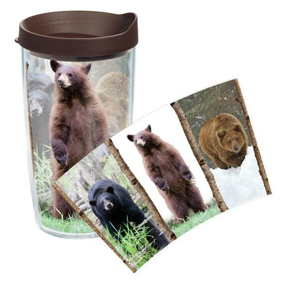 Great Outdoors Bear Trio Tumbler with Lid by Tervis Tumbler
