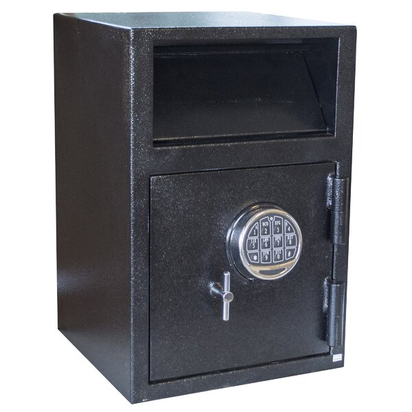 Buffalo Outdoor Depository Safe with Electronic Lo