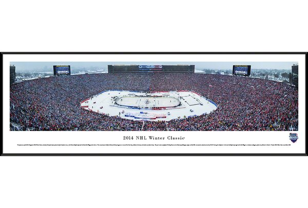 NHL Winter Classic by Christopher Gjevre Framed Photographic Print by Blakeway Worldwide Panoramas, Inc