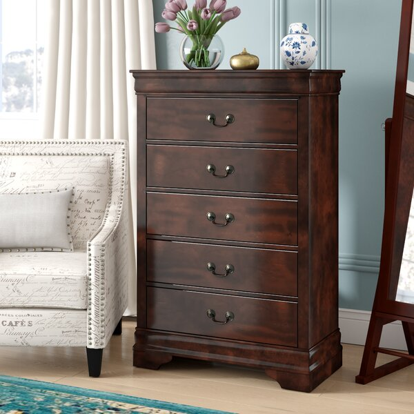 Dwyer 5 Drawer Chest by Three Posts