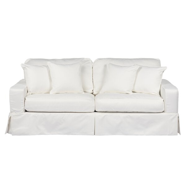 Elsberry Box Cushion Sofa Slipcover by Darby Home Co