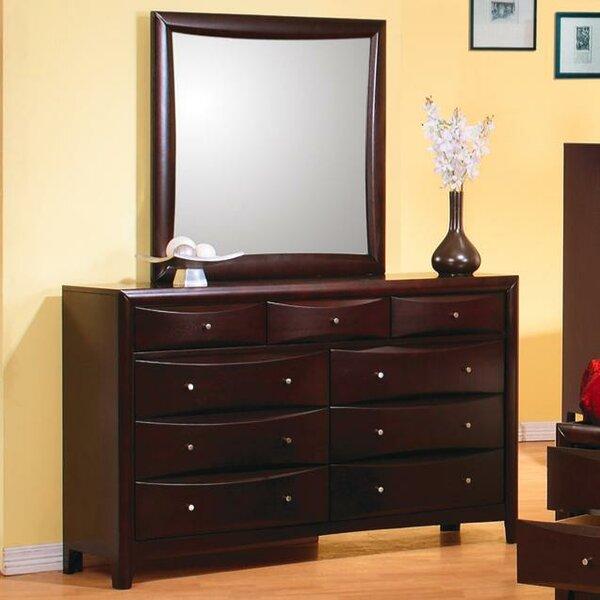 Wexford 9 Drawer Dresser by Wade Logan