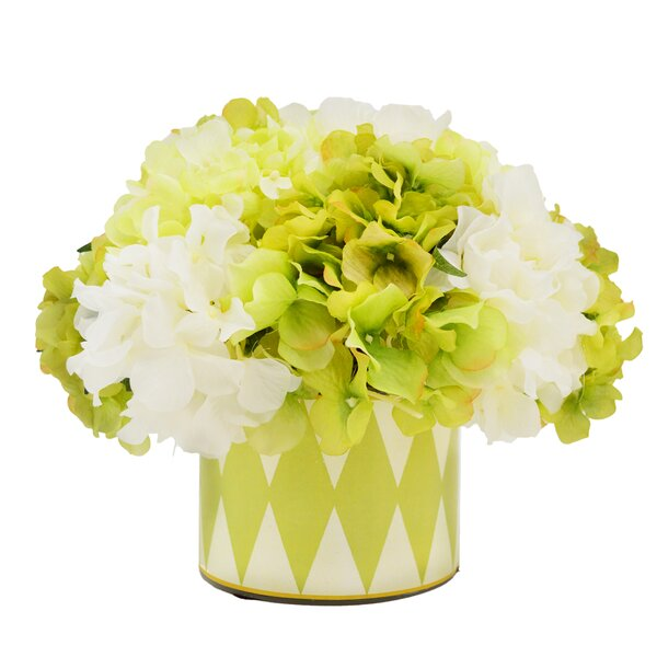 Hydrangea Floral Arrangement by House of Hampton