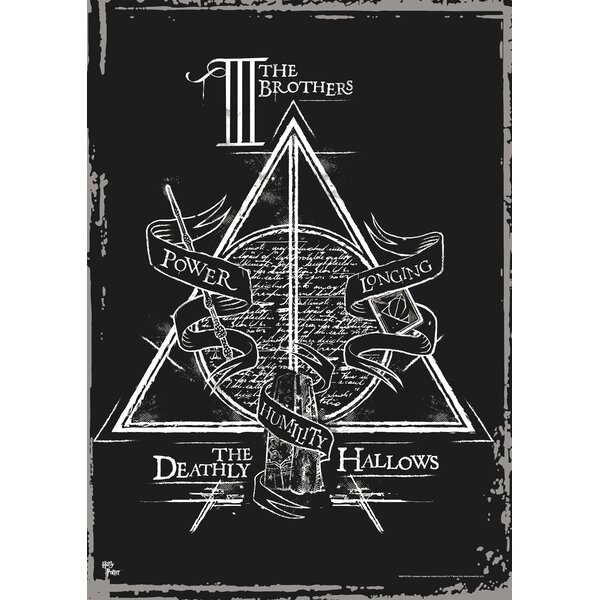 Harry Potter (Deathly Hallows - the Brothers) Graphic Art by MightyPrint