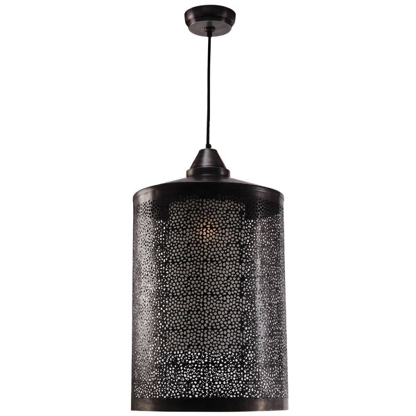 Sorcerer 1-Light Cylinder Pendant by Wildon Home ®