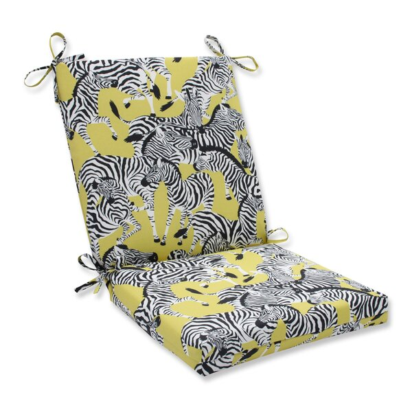 Herd Together Wasabi Indoor/Outdoor Lounge Chair Cushion by Pillow Perfect