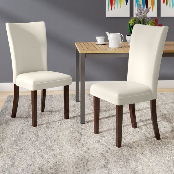 Hargrave Upholstered Dining Chair (Set of 2) by Latitude Run