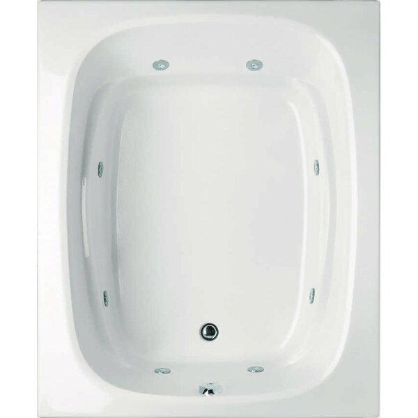 Designer Alexis 60 x 48 Air Tub by Hydro Systems