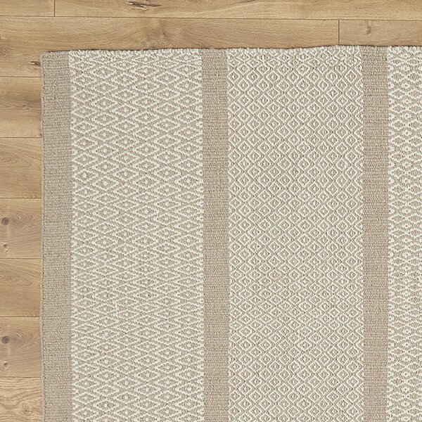 Willard Hand-Woven Taupe Area Rug by Birch Lane™