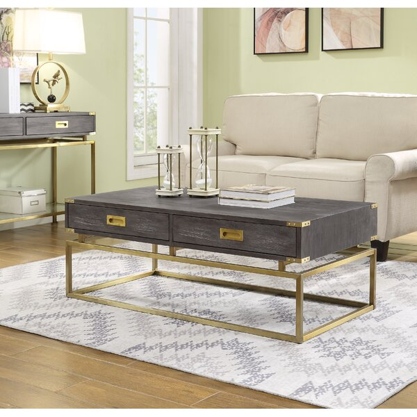 Laforcel Coffee Table with Storage by Mercer41