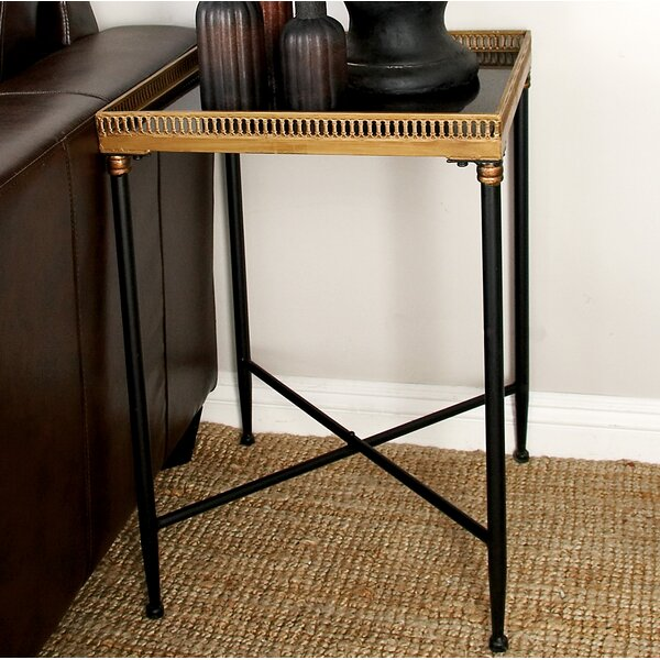 Metal and Mable Tray Table by Cole & Grey