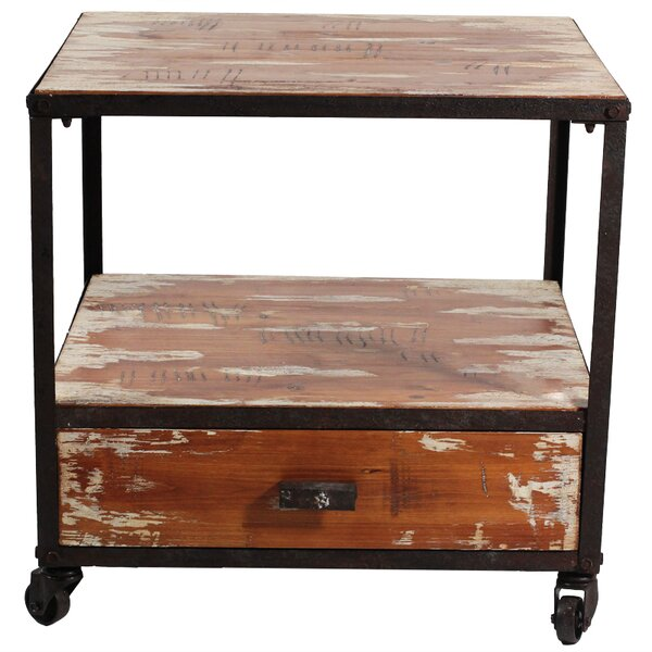 Roshawna End Table by 17 Stories