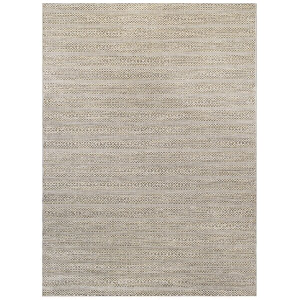 Hogans Green/Beige Indoor/Outdoor Area Rug by Highland Dunes