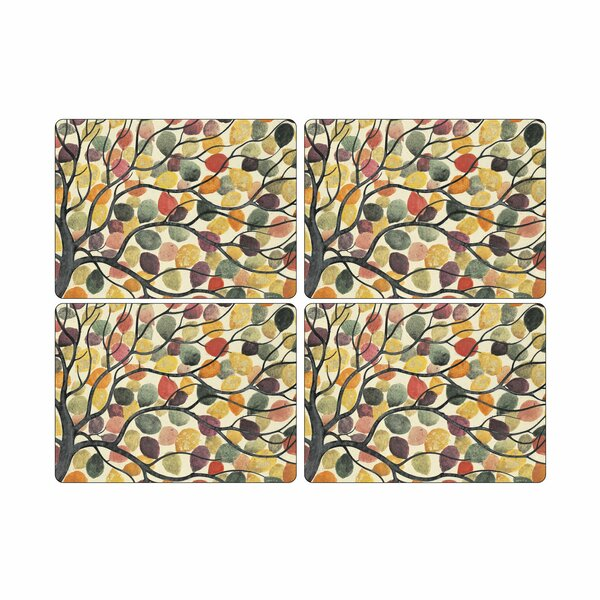 Dancing Branches 16 Placemat (Set of 4) by Pimpernel