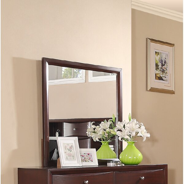 Baxter Square Dresser Mirror by Ebern Designs