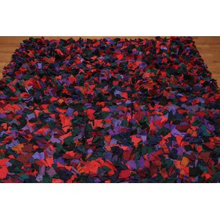 One-of-a-Kind Koehl Hand-Knotted Wool Red/Black Area Rug ByAstoria Grand