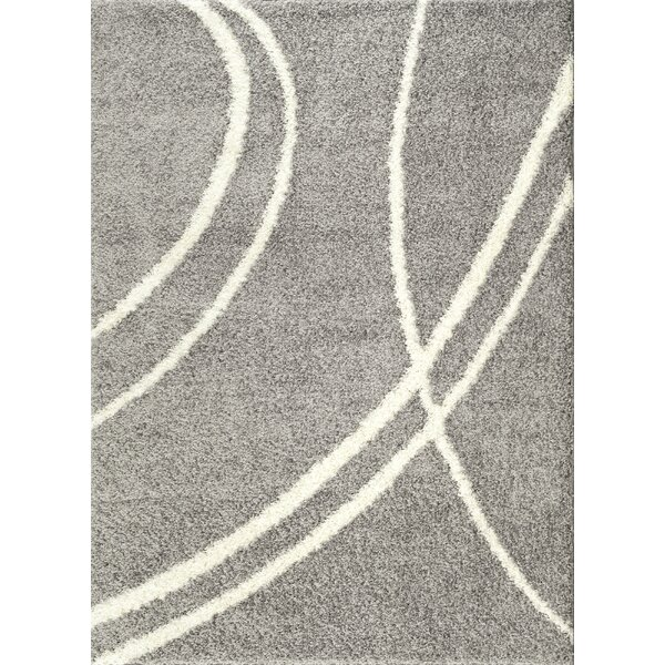 Caressa Light Gray Area Rug by Zipcode Design