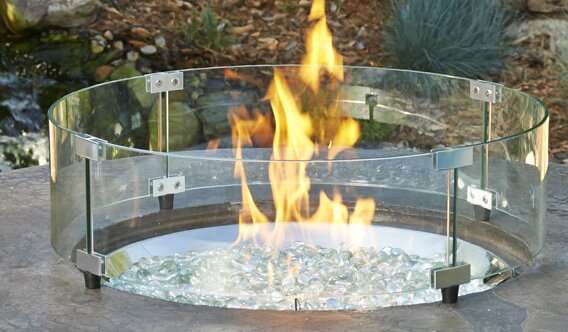 Fire Pit Guard by The Outdoor GreatRoom Company