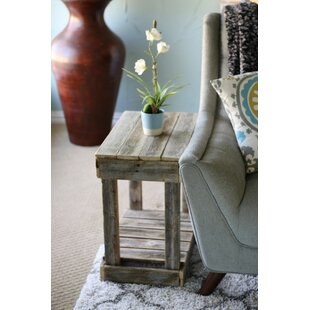 Frankford Slatted End Table