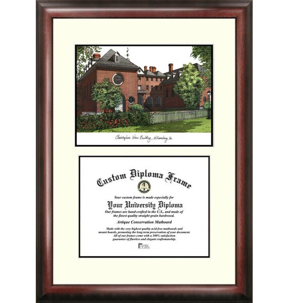 NCAA College of William and Mary Scholar Diploma Picture Frame by Campus Images