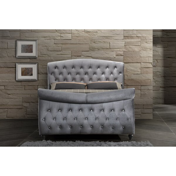 Conard Upholstered Sleigh Bed by Mercer41