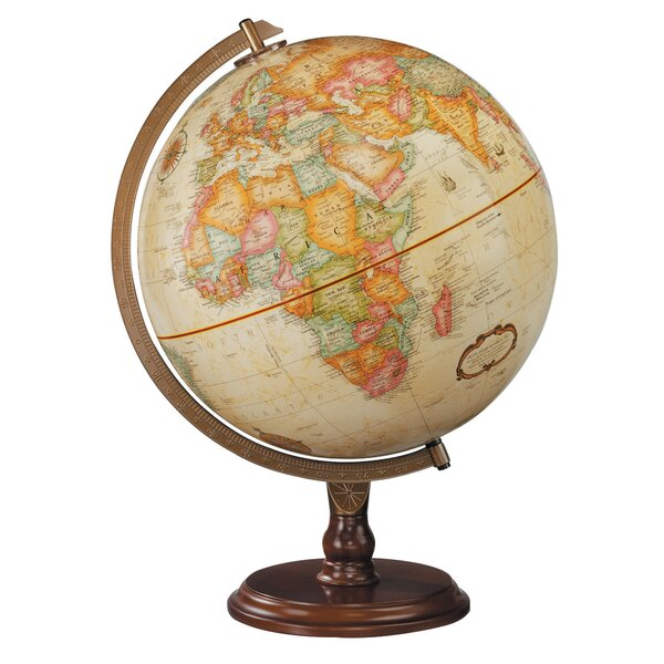 Globe by Charlton Home