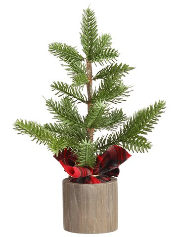 Desktop Cedar Tree in Planter by The Holiday Aisle