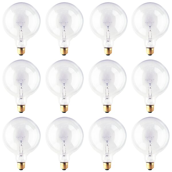 E26 Dimmable Incandescent Light Bulb (Set of 12) by Bulbrite Industries