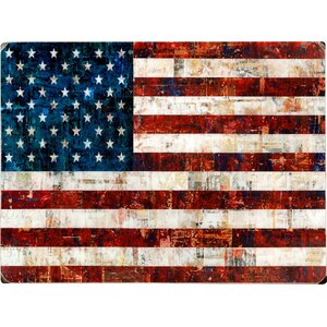 'American Flag Collage' Photographic Print by August Grove
