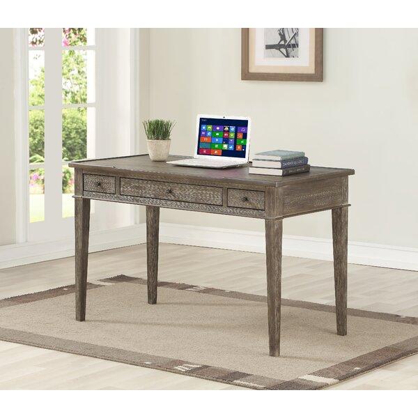 Affinia 3 Drawer Writing Desk [Millwood Pines]