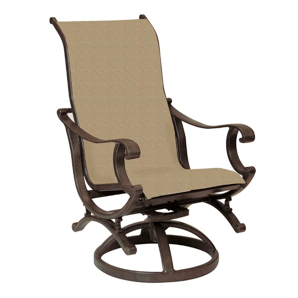 Rialto Sling Swivel Rocking Chair by Leona