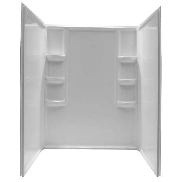 Lex Class Three Panel Shower Wall by ANZZI