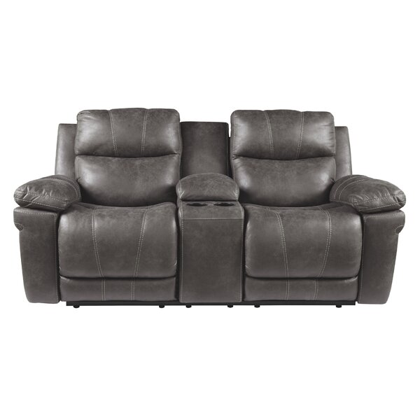 Discover The Latest And Greatest Pinero Reclining Loveseat by Red Barrel Studio by Red Barrel Studio