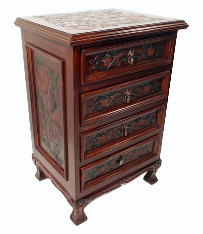 Tylersburg 4 Drawer Nightstand (Set of 2) by Astoria Grand