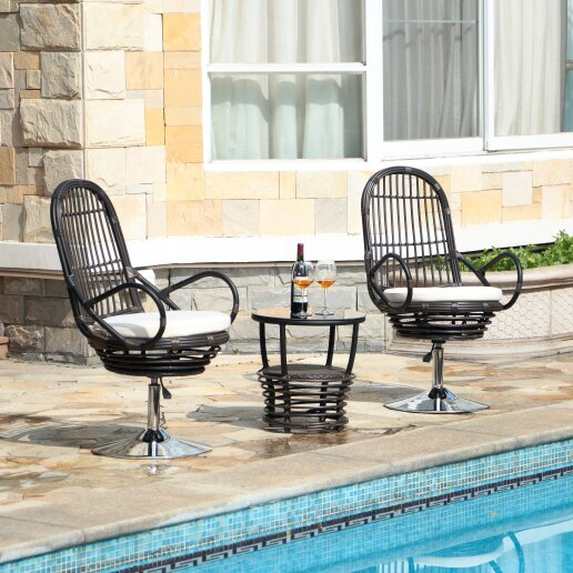 Fairwinds 3 Piece Conversation Set with Cushions