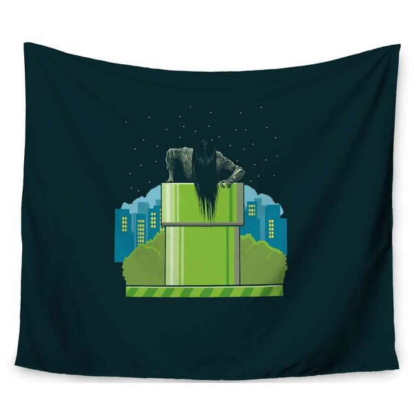 BarmalisiRTB The Wrong Hole Tapestry and Wall Hanging by East Urban Home