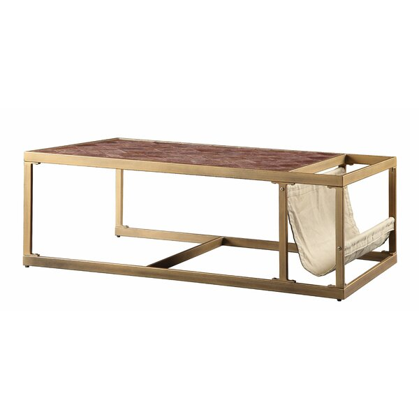 Marinescu Frame Coffee Table With Storage By Brayden Studio
