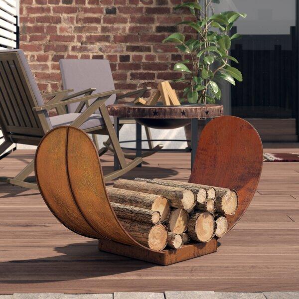 Ramiro Rustic Firewood Log Rack By Millwood Pines