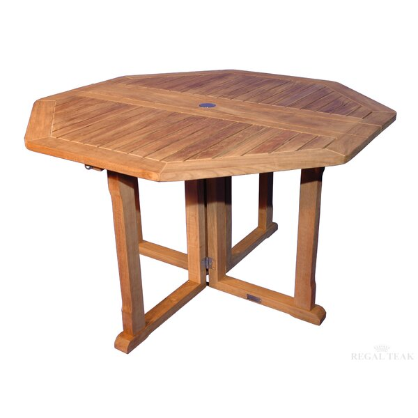 Folding Dining Table by Regal Teak Regal Teak