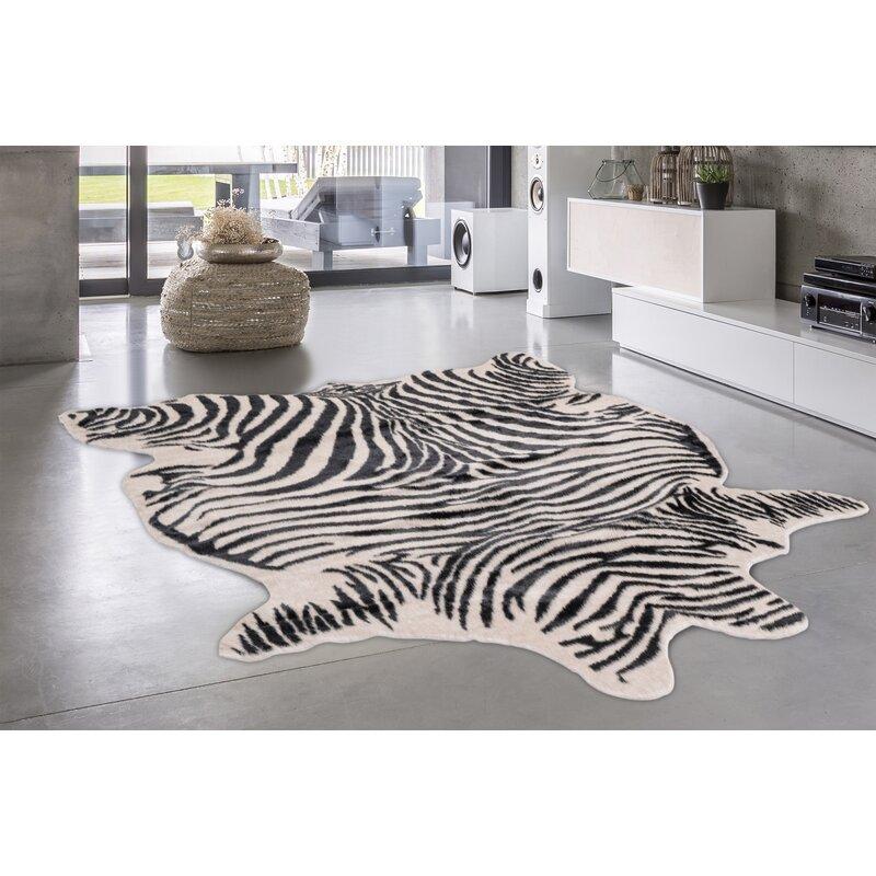 Eucalo Texa Zebra Rug Wayfair Co Uk