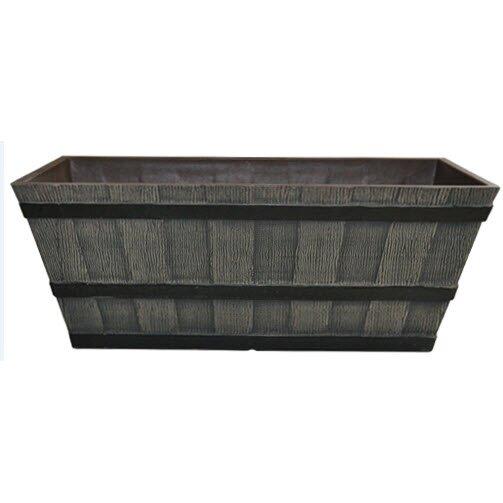 Whiskey Barrel Resin Planter Box by Gardener Select