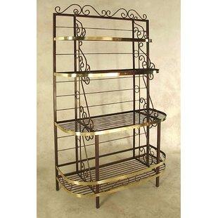 Find Karol Wrought Iron Baker's Rack Best price