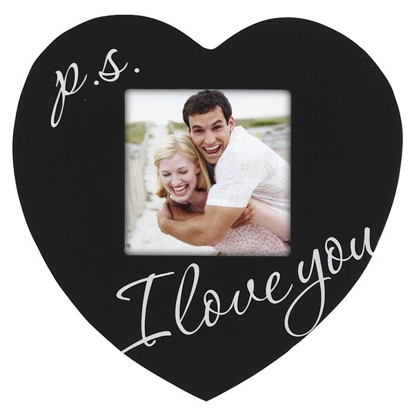 P.S. I Love You Heart Picture Frame by Malden