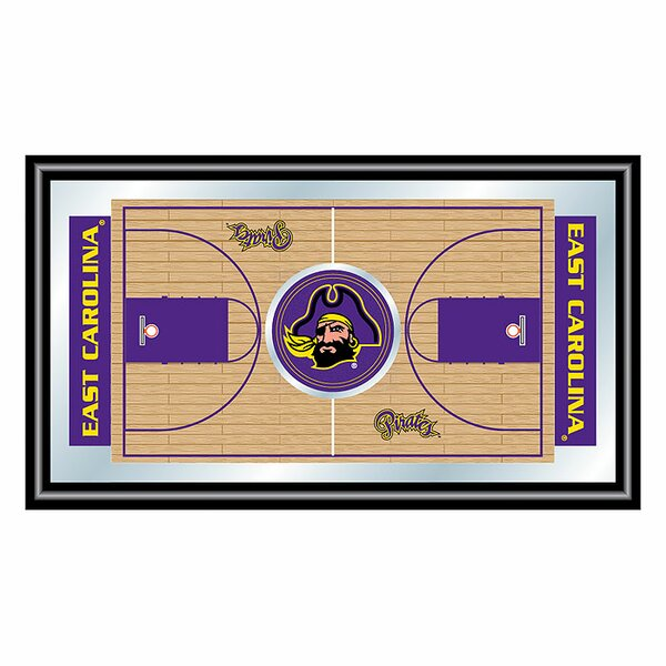 NCAA Basketball Framed Graphic Art by Trademark Global
