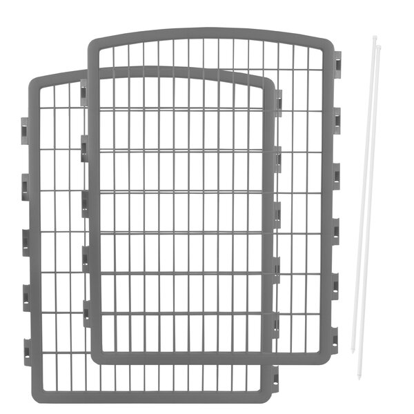 Merlo Expansion Kit for Indoor/Outdoor Plastic Pet Pen by Tucker Murphy Pet